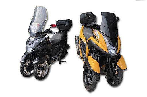 トライク3輪バイク(2人乗)